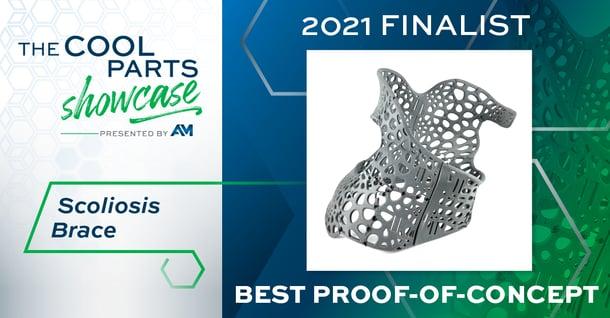 The Cool Parts Showcase 2021 Finalist Scoliosis Brace